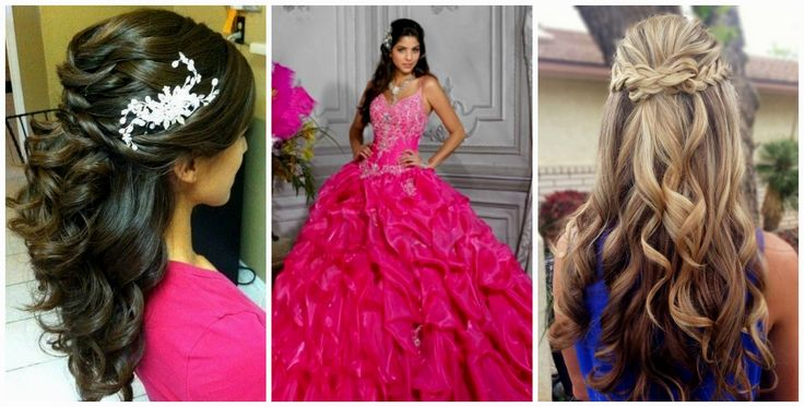 Quinceanera Hairstyles 2016 With Curls To The Side | Hairstyles Ideas