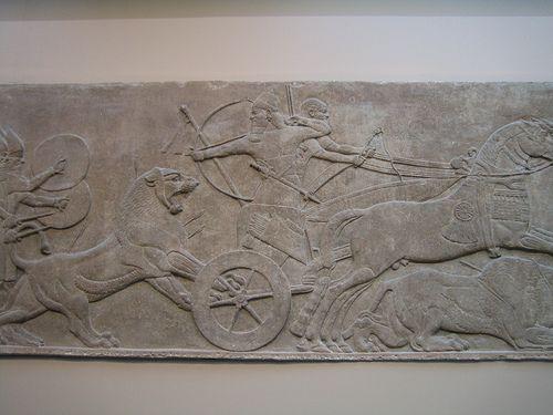 Altamira. Blog de Historia del Arte, por Antonio Boix.: Comentario. Relieves del palacio de Asurbanipal.