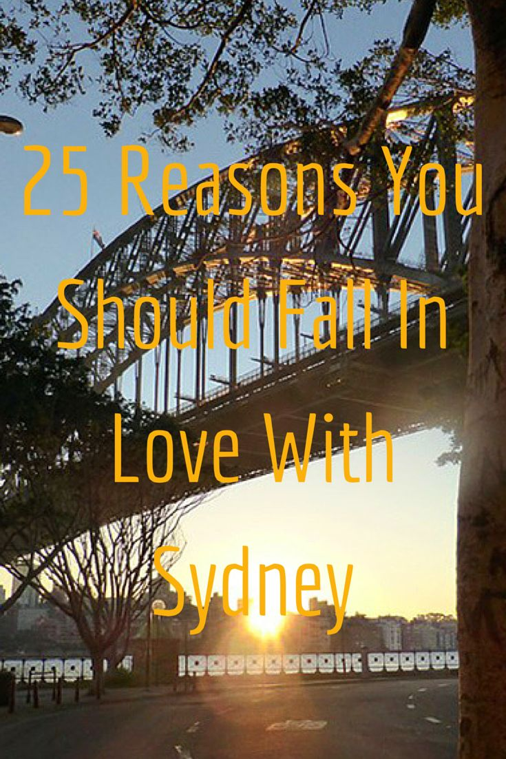 25 Reasons You Should Fall In Love With Sydney #travel #Sydney #Australia