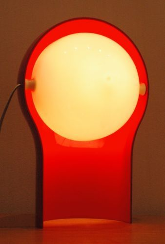 Artemide Vico Magistretti Model Telegono Vintage Plastic Light Lamp | eBay
