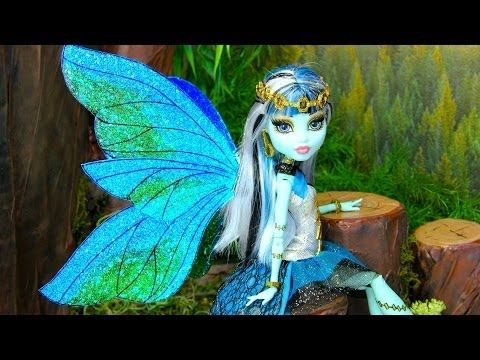 Cute and Cool fairy wing for a Barbie Doll. Try it. Easy but Fun.