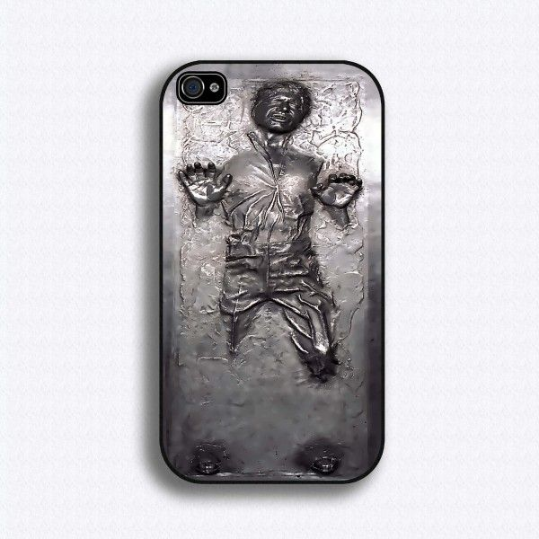 iPhone + Han SoloIphone Cases, Iphone 4S, Star Wars, Phones Cases, Stars Wars, Iphone 4 Cases, Hans Solo, Starwars, Carbonite Iphone