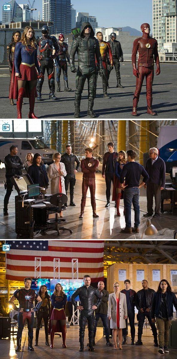 "Team Arrow in #LegendsofTomorrow #2x07 ""Invasion"" - Crossover stills"