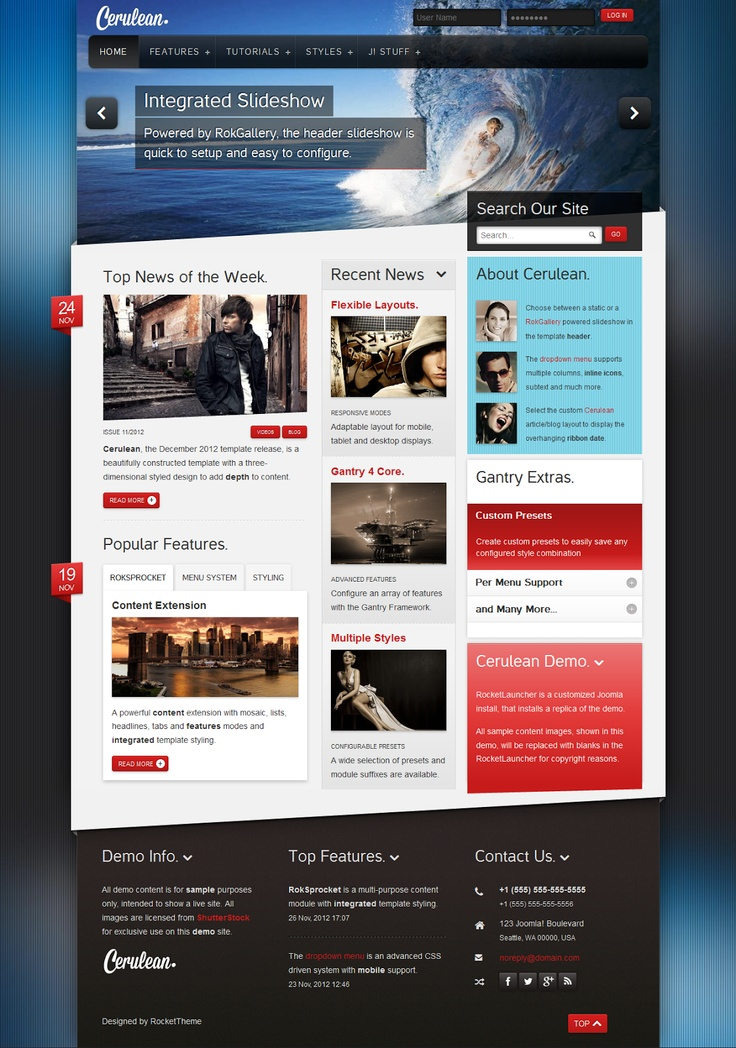 Perfect Gantry Joomla Templates Inspiration - Professional Resume ...