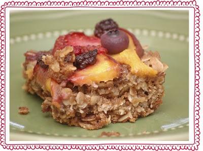 Very similar to the Great Harvest Bread Company Savannah Bar recipe...