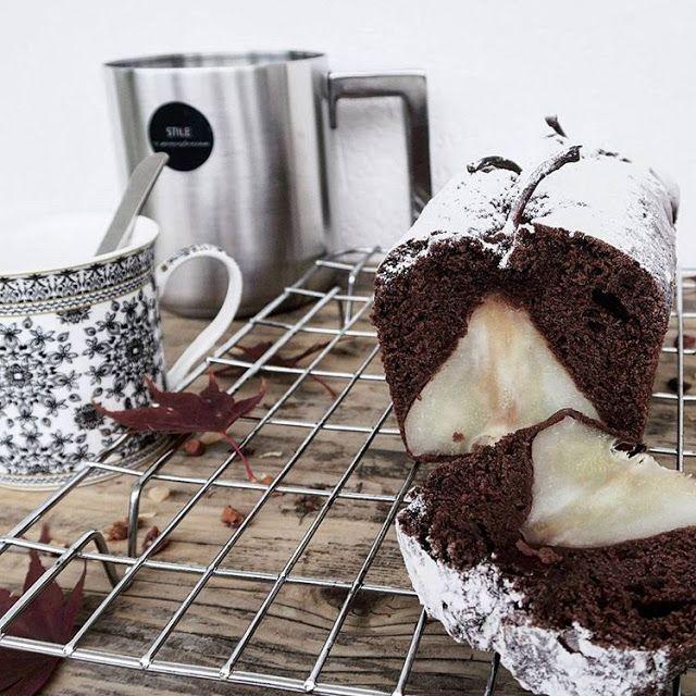 Plumcake al cioccolato fondente e pere | Vita su Marte