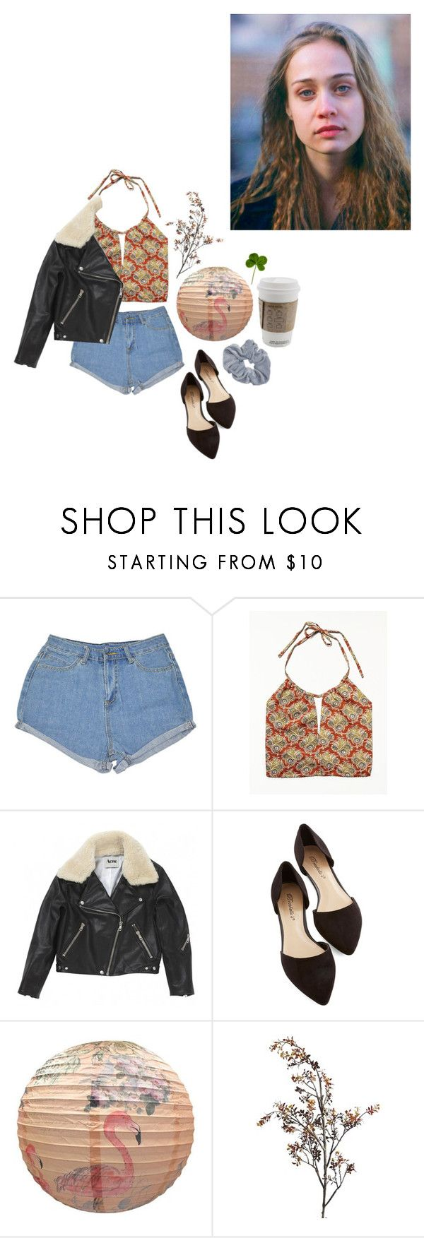 """Working at the local movie theater"" by love4yu ❤ liked on Polyvore featuring Free People, Acne Studios and Pier 1 Imports"