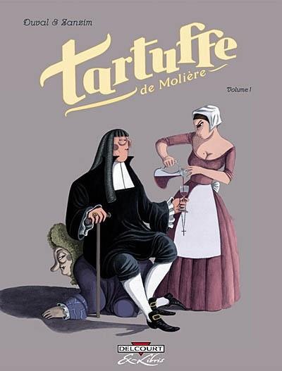 Tartuffe en bandes dessinées