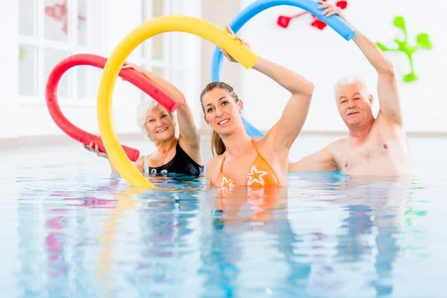 Water Aerobics Pool Exercises