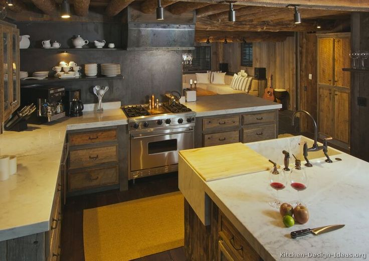 295 Best Images About Rustic Kitchens On Pinterest | French