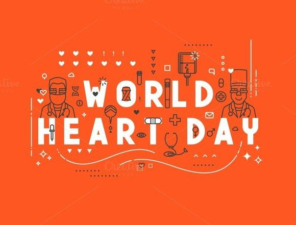 Medicine concept World heart day. Business Infographic