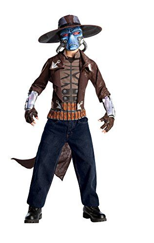 Jacket W, Attached Shirt, Hat, Gauntlets & Mask This is an official star wars licensed item Machine wash cold, hand dry costume