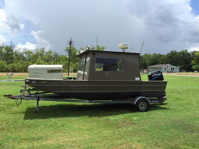 17 best ideas about jon boat on pinterest bass boat for Aluminum boat with cabin for sale