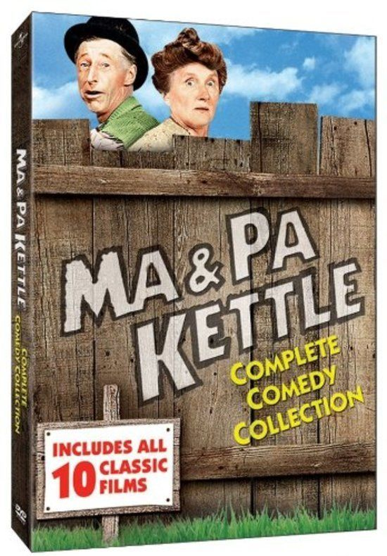Ma and Pa Kettle Full Complete Comedy Collection DVD Box Set  #UNIVERSAL