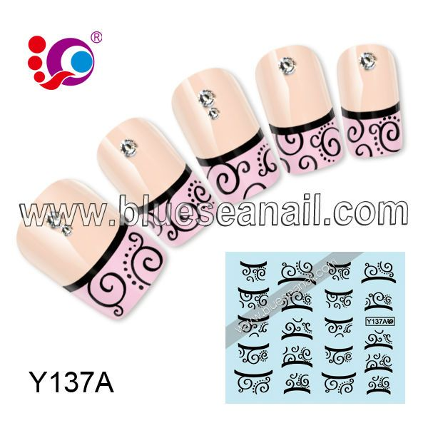 2014 new designs fashion nail ar sticker nail accessories hydrographic printing film $0.2~$2.99