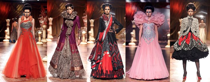 Halloween Anyone?  runway fashion | avant garde indian runway fashion design