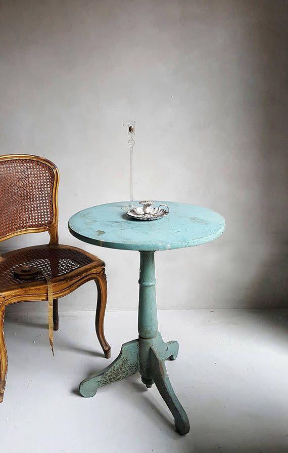 Tavolino Rotondo Da Salotto Antico.Antico Tavolino Tondo In Legno Tavolo Da Te Salotto