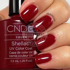 cnd shellac RED BARONESS - possibly my next color!