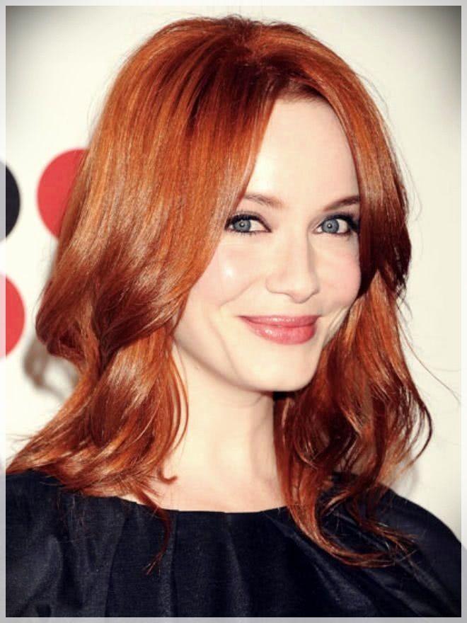 Medium Haircuts 2019 Red Hair Color Hair Color Auburn