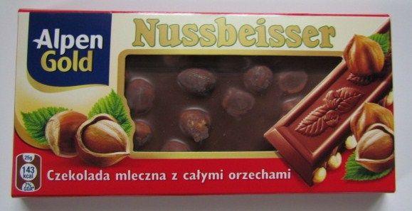 Djors : NUSSBEISSER czekolada mleczna