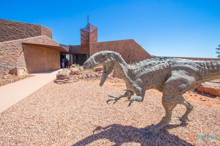 Australian Age of Dinosaurs Museum - Winton, Outback Queensland