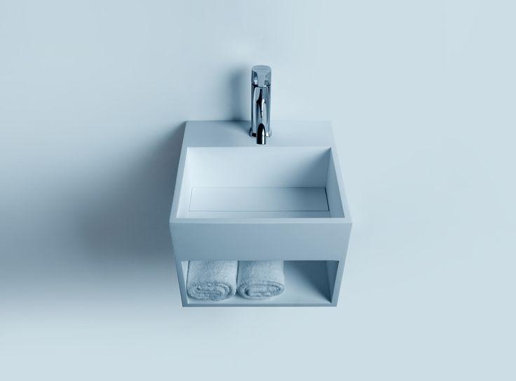 Waschbecken eckig mit unterschrank  Die besten 25+ Mineralguss waschtisch Ideen auf Pinterest ...