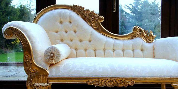 Récamier ou chaise longue? Ai que dúvida, gente! Seja como for, ambos têm seu charme! ❤ #decoração #descanso