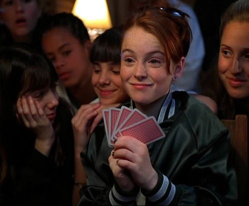 """""""You're good James, but you're just not good enough! In your honor a royal flush."""""""