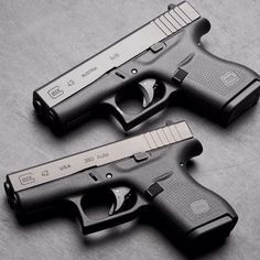 Glocks 42 & 43 are the ULTIMATE Glocks for concealed carry. The Glock 42 is the .380 single stack pistol and the Glock 43 is the 9MM single stack. They also retail for far less than other Glock pistols.