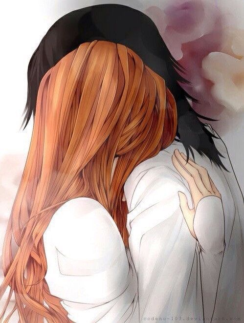 """Original caption was """"lily and snape"""". ?? This is Orihime and Ulquiorra."""