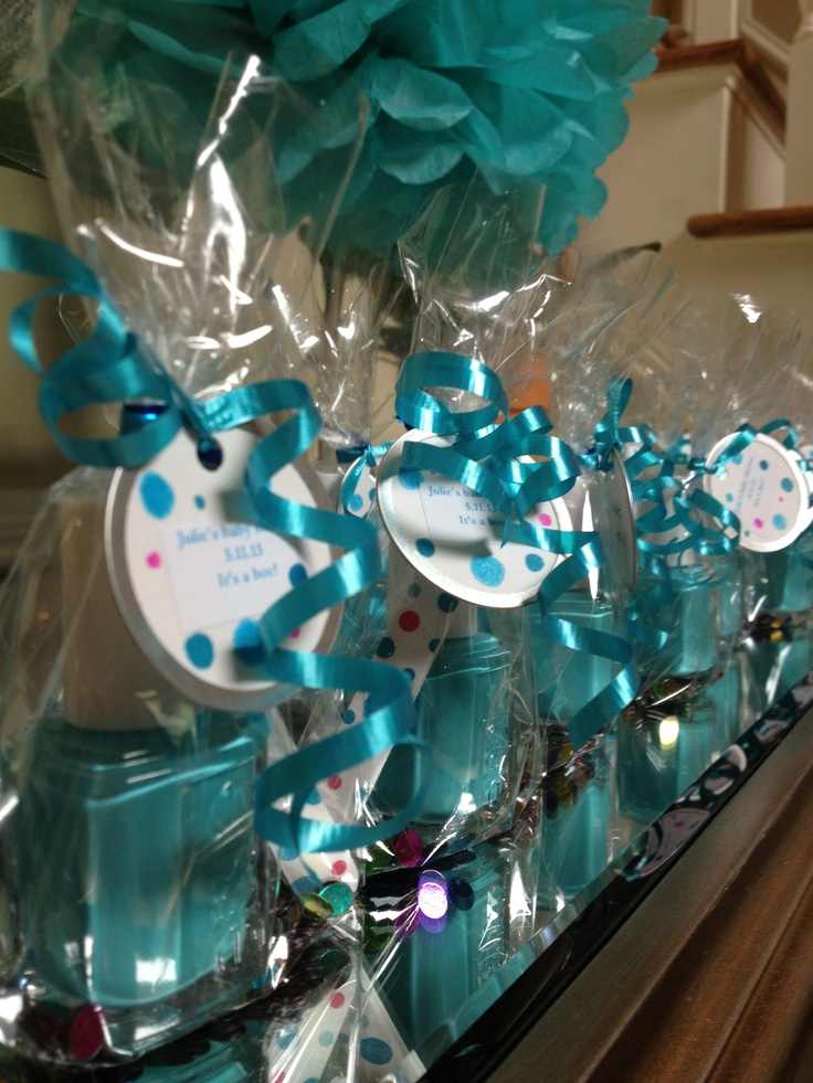 Nail Polish Party Favors For Spa Themes Baby Shower Spa