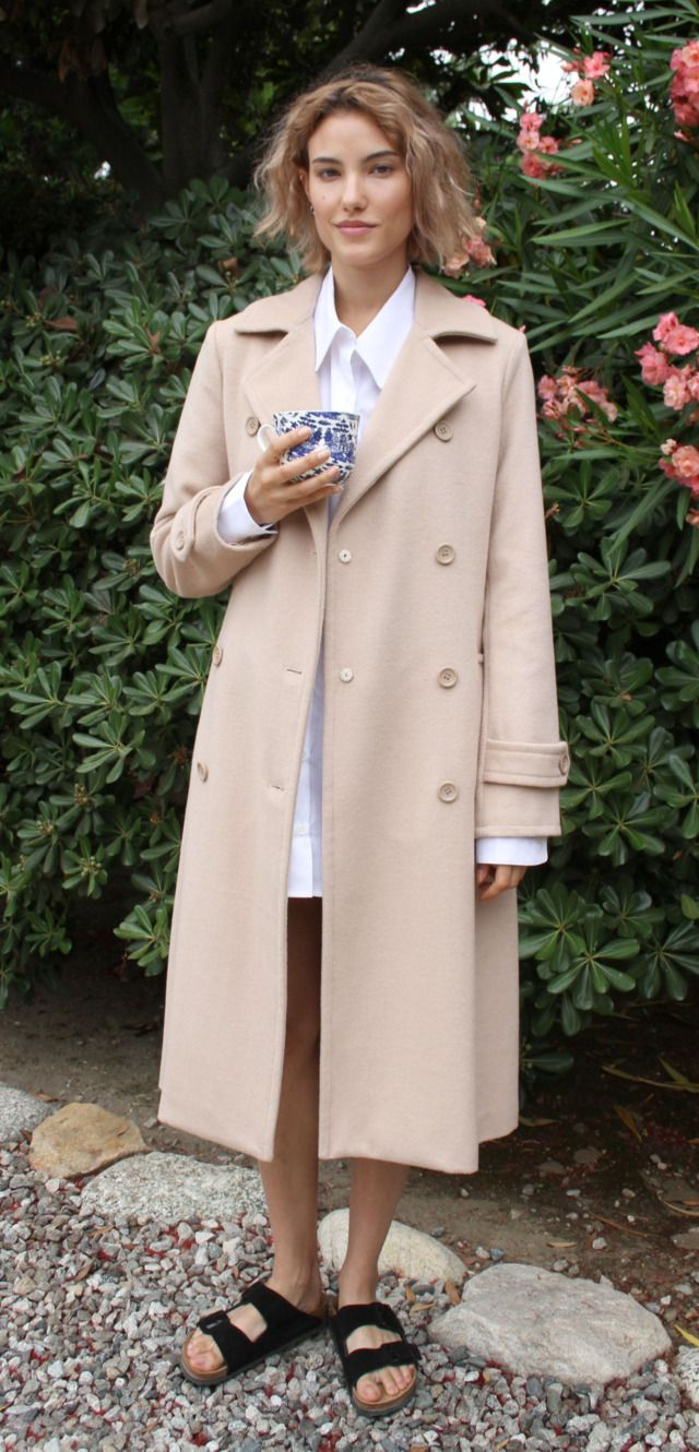 Agyness Deyn's Androgynous New Clothing Line: Title A FW 2014 Look Book  Photo: DANA BOULOS/Courtesy of Title A