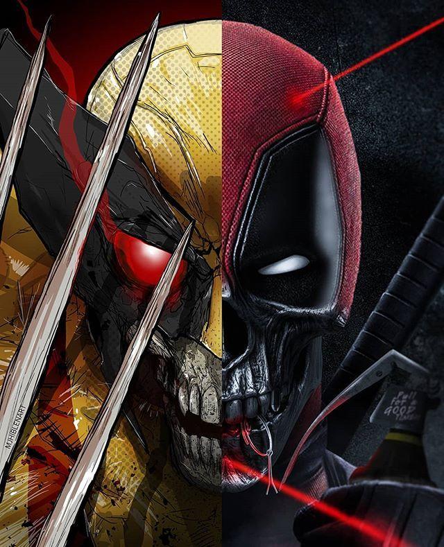 Bosslogic Sur Instagram Wolverine X Deadpool Bosslogic X Mjhiblenart In 2020 Deadpool Deadpool Artwork Deadpool Wallpaper