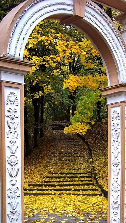 The entrance to Stryiskyi Park, Lviv