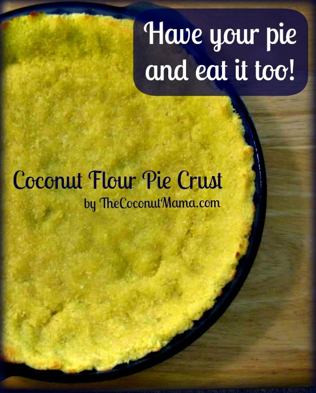 This is a relatively easy pie crust recipe. I had dinner guests this weekend, one of which is currently gluten-free. As you know, I do a lot of gluten/grain free cooking in my home, so this wasn...