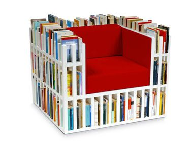 Fantastic idea for book lovers! Perfect for a home office or library!