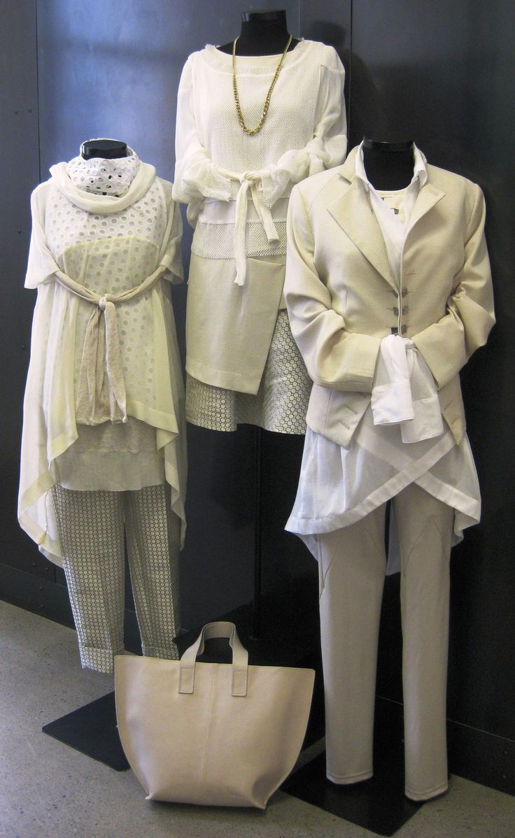Our Wellington boutique working those clean creams and crisp neutrals in their window