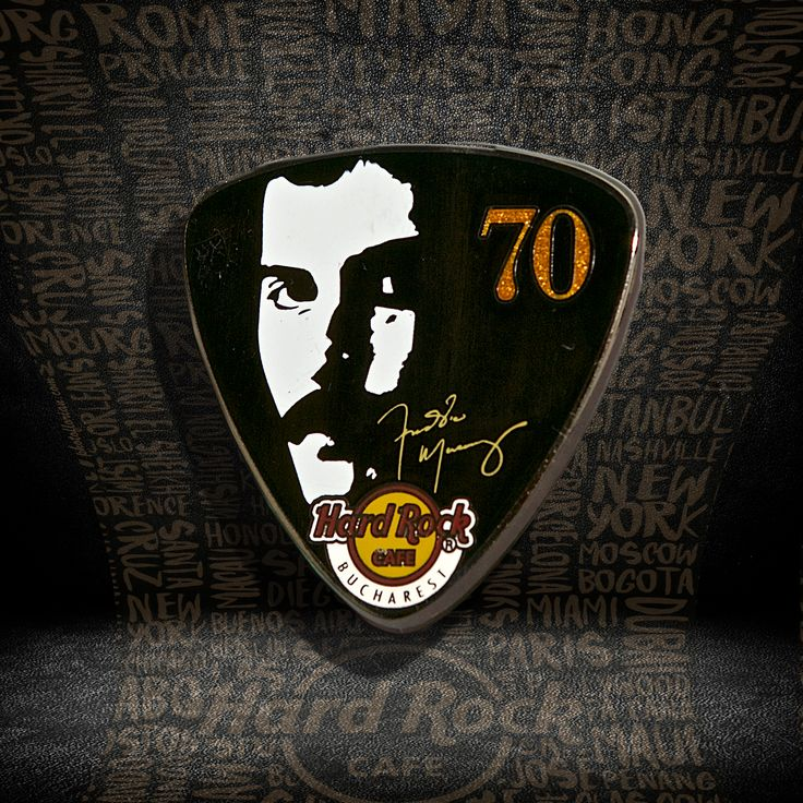 Freddie's 70th Anniversary Pin #pins #hardrockcafebucharest
