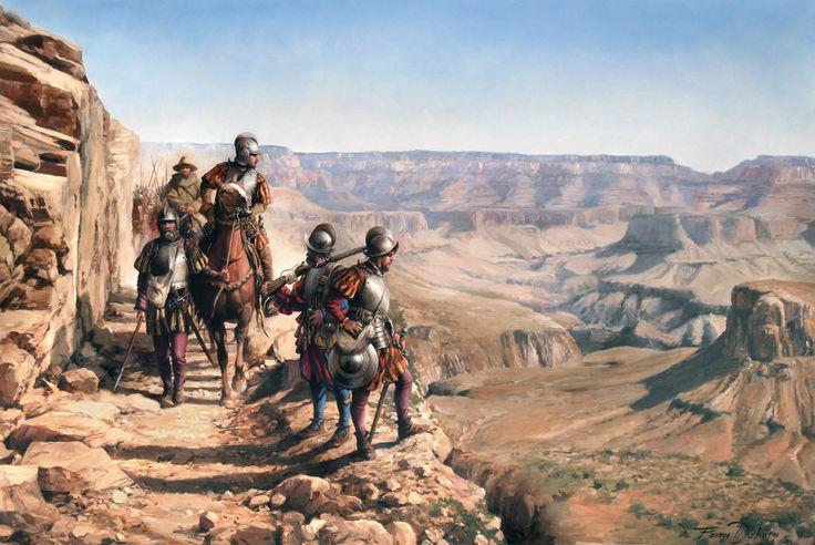 ULTIMOS CUADROS: Españoles en el Colorado