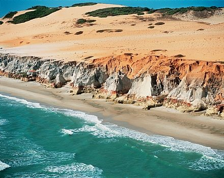 Canoa Quebrada hidden beach to visit in Brazil