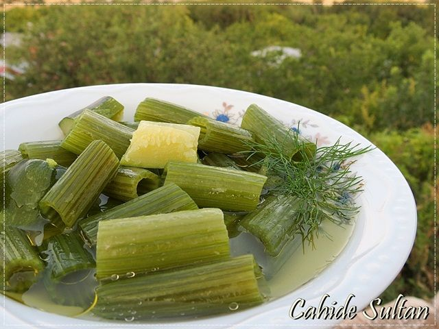 Kabak Sapı Haşlaması/ Hafif Diyet Salata