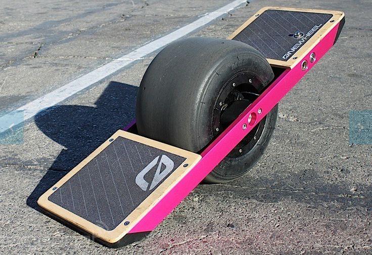 New automatic skateboard design