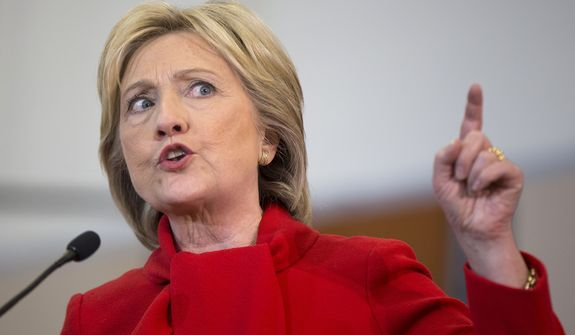 1/24/2016 Democratic presidential candidate Hillary Clinton, who compared Republican presidential candidates' views on women's rights to that of terrorists, has received the first campaign endorsement in the 100-year history of Planned Parenthood's political arm. (Associated Press) http://www.washingtontimes.com/news/2016/jan/24/hillary-clinton-rallies-planned-parenthood-vote-fi/
