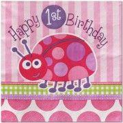 Pink Ladybird 1st birthday