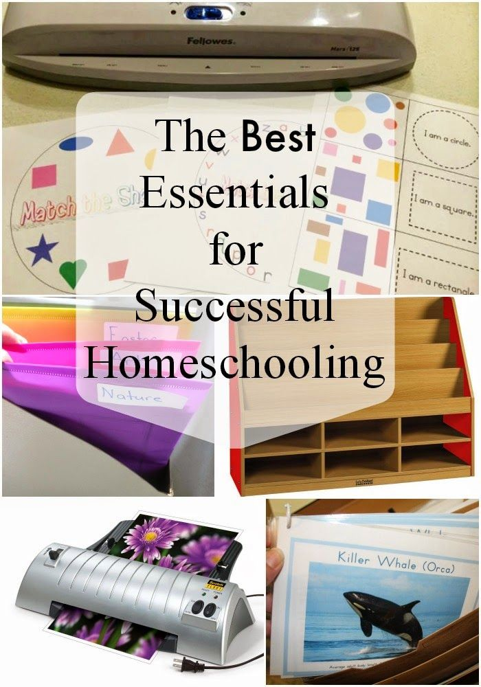 The Montessori on a Budget blog: The Best Essentials for Homeschooling