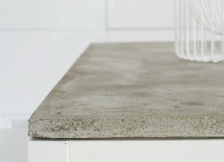 #DIY #concrete table // via WEEKDAY CARNIVAL