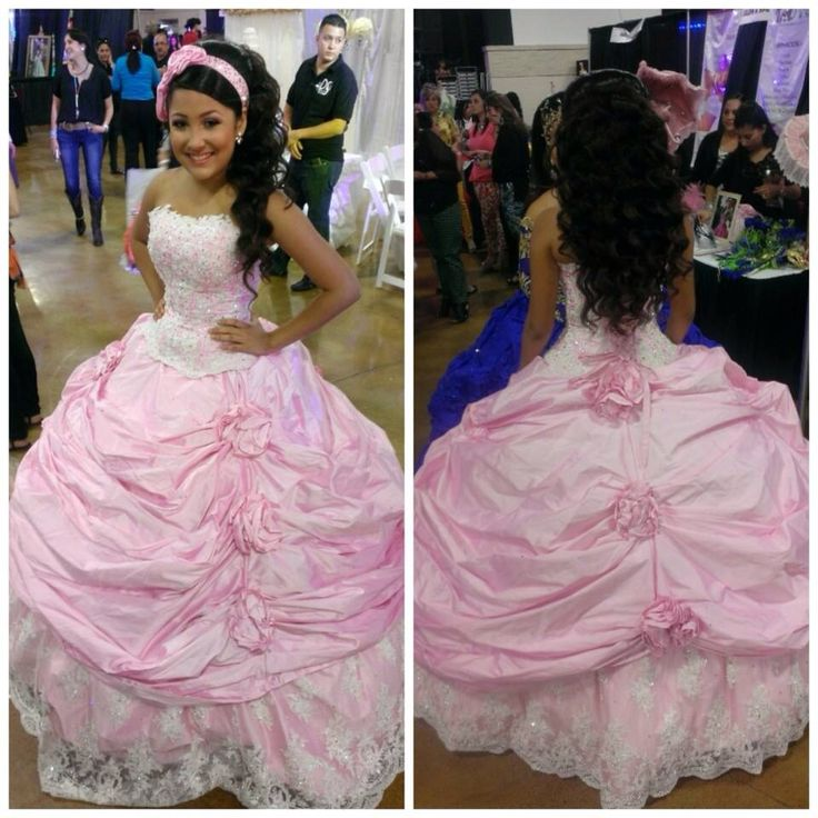 My Daughters Quincenera Dress Handmade By Sylvia's Dresses