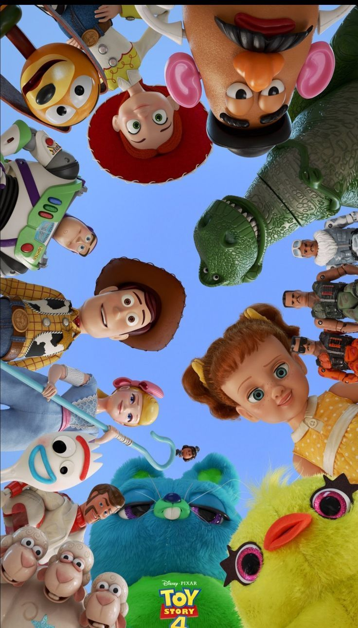 Toy Story 4! Such a fun movie! Papel de parede para