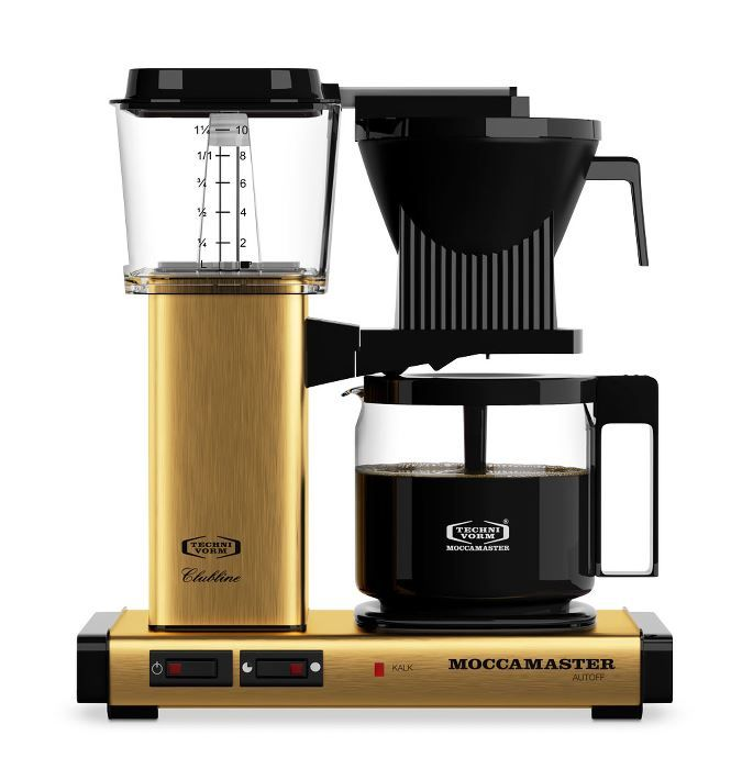 Moccamaster - Kaffemaskine KBGC 982 AO BRASS