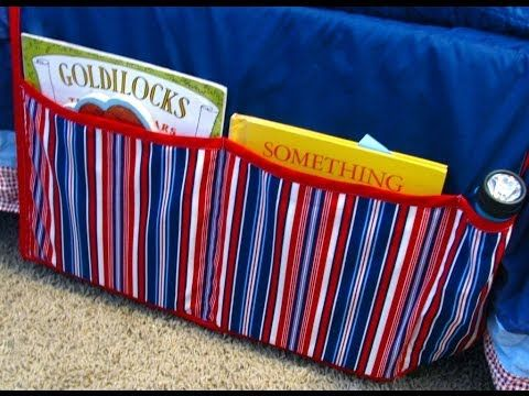 How to Make a Bedside Organizer   AllFreeSewing.com